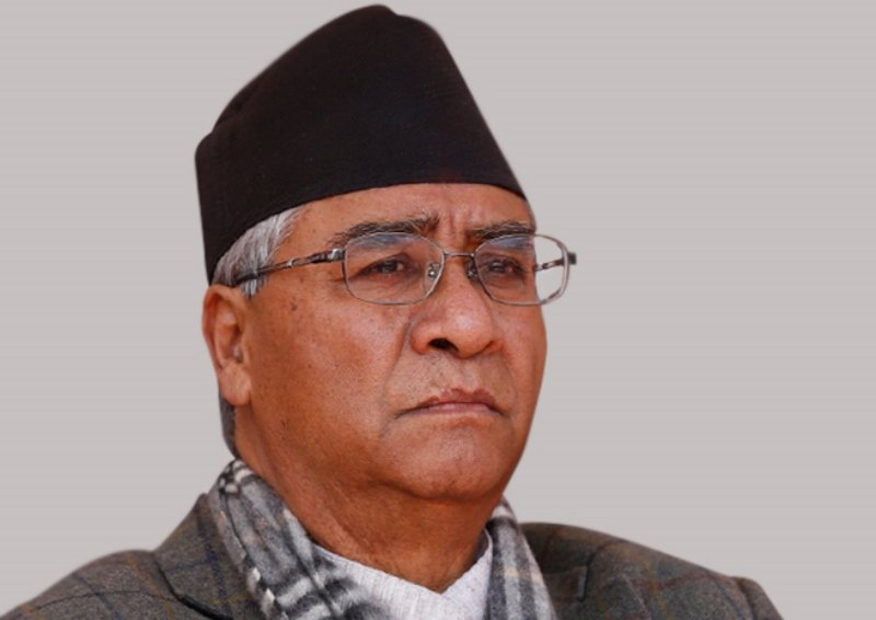 deuba, breaking news from nepal